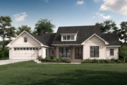 Farmhouse Style House Plan - 3 Beds 2.5 Baths 2020 Sq/Ft Plan #430-245 Exterior - Front Elevation