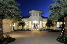 Dream House Plan - Mediterranean Exterior - Front Elevation Plan #930-508