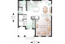 Traditional Floor Plan - Main Floor Plan Plan #23-737