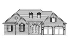 Dream House Plan - Ranch Exterior - Front Elevation Plan #46-881