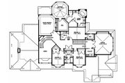 Craftsman Style House Plan - 5 Beds 4.5 Baths 5250 Sq/Ft Plan #132-178 Floor Plan - Upper Floor Plan