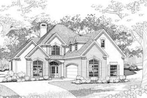 Traditional Exterior - Front Elevation Plan #120-123