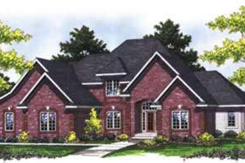 Home Plan - European Exterior - Front Elevation Plan #70-845
