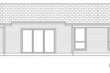 Modern Exterior - Rear Elevation Plan #84-517