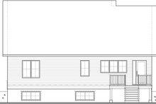 House Blueprint - Farmhouse Exterior - Rear Elevation Plan #23-2746