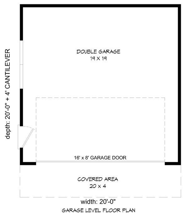 Country Floor Plan - Main Floor Plan Plan #932-233