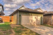 Contemporary Style House Plan - 3 Beds 2 Baths 1843 Sq/Ft Plan #932-7 Exterior - Rear Elevation
