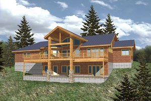 Modern Exterior - Front Elevation Plan #117-276