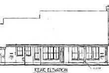 Dream House Plan - European Exterior - Rear Elevation Plan #410-174