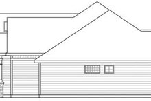 Home Plan - Craftsman Exterior - Other Elevation Plan #124-846