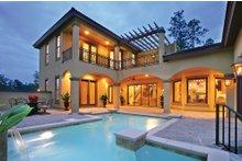 Architectural House Design - Mediterranean Exterior - Rear Elevation Plan #930-22