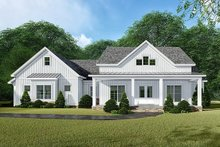 Country Exterior - Front Elevation Plan #923-132