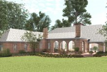 Southern Exterior - Rear Elevation Plan #406-9614