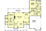 Farmhouse Style House Plan - 3 Beds 2.5 Baths 2282 Sq/Ft Plan #430-160 Floor Plan - Main Floor Plan