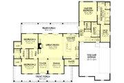 Farmhouse Style House Plan - 3 Beds 2.5 Baths 2282 Sq/Ft Plan #430-160 Floor Plan - Main Floor Plan