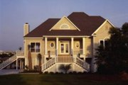 Beach Style House Plan - 3 Beds 2 Baths 2205 Sq/Ft Plan #37-174 Exterior - Front Elevation