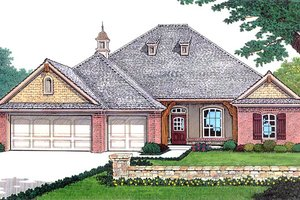 Traditional Exterior - Front Elevation Plan #310-311