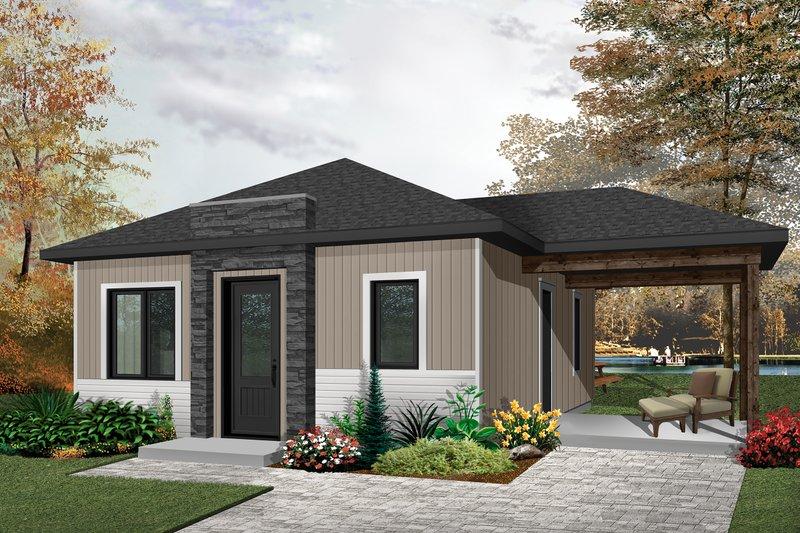 House Design - Ranch Exterior - Front Elevation Plan #23-2606