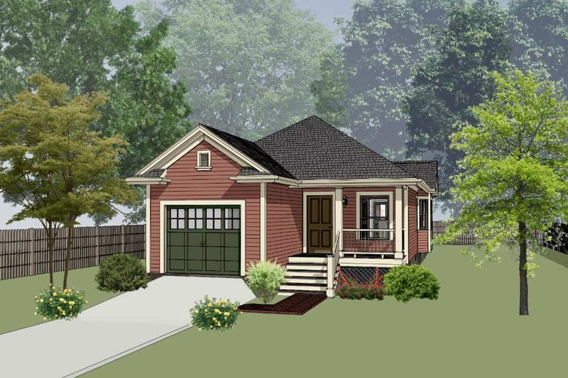 Dream House Plan - Traditional Exterior - Front Elevation Plan #79-149