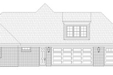 Architectural House Design - Country Exterior - Other Elevation Plan #932-89