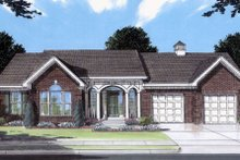 Traditional Exterior - Front Elevation Plan #46-350
