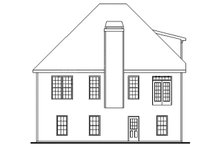 House Plan Design - Country Exterior - Rear Elevation Plan #927-683