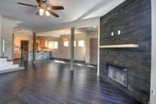 House Plan Design - Contemporary Interior - Family Room Plan #932-7