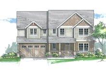 Craftsman Exterior - Front Elevation Plan #53-610