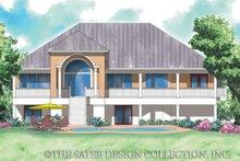 House Plan Design - Traditional Exterior - Rear Elevation Plan #930-153