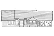 Home Plan - Country Exterior - Rear Elevation Plan #46-106