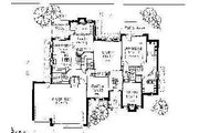 Colonial Style House Plan - 4 Beds 3.5 Baths 2728 Sq/Ft Plan #310-714 Floor Plan - Main Floor