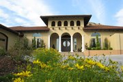 Adobe / Southwestern Style House Plan - 2 Beds 2 Baths 4379 Sq/Ft Plan #451-19 Exterior - Front Elevation