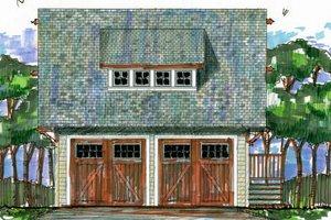 Craftsman Exterior - Front Elevation Plan #426-10
