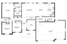 Traditional Floor Plan - Main Floor Plan Plan #1060-67