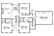 Farmhouse Style House Plan - 4 Beds 3.5 Baths 3163 Sq/Ft Plan #929-16 Floor Plan - Upper Floor Plan