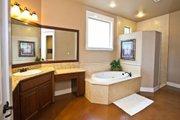 Craftsman Style House Plan - 4 Beds 3.5 Baths 3760 Sq/Ft Plan #80-205 Interior - Master Bathroom