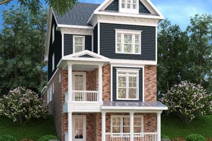 Traditional Exterior - Front Elevation Plan #419-292