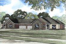 House Plan Design - European Exterior - Front Elevation Plan #17-1154