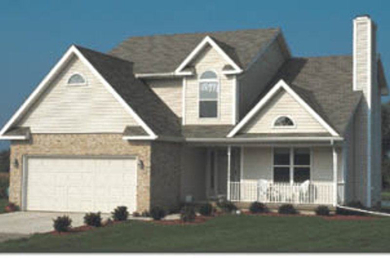 Traditional Exterior - Front Elevation Plan #20-226 - Houseplans.com