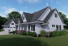 Dream House Plan - Right Front