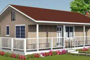 Farmhouse Style House Plan - 0 Beds 1 Baths 480 Sq/Ft Plan #1-943 Exterior - Front Elevation