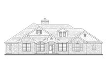 Dream House Plan - Traditional Exterior - Front Elevation Plan #80-145