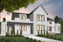 Home Plan - Farmhouse Exterior - Front Elevation Plan #23-2691