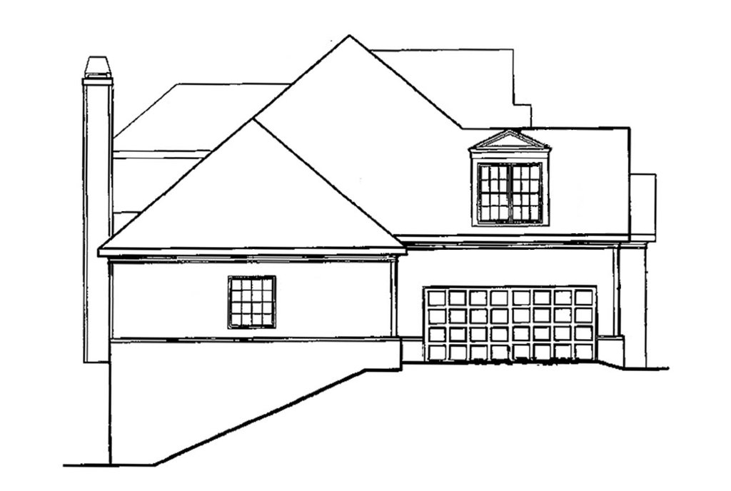 country style house plan - 3 beds 2 5 baths 2180 sq  ft plan  927-625