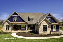 Architectural House Design - Craftsman Exterior - Front Elevation Plan #929-988