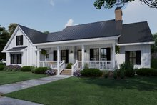 Architectural House Design - Farmhouse Exterior - Front Elevation Plan #120-263