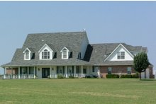 Dream House Plan - Country Exterior - Front Elevation Plan #310-623