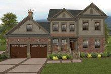 House Plan Design - Craftsman Exterior - Front Elevation Plan #56-702