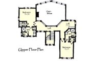 Craftsman Style House Plan - 3 Beds 3.5 Baths 2736 Sq/Ft Plan #921-13 Floor Plan - Upper Floor Plan