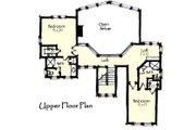 Craftsman Style House Plan - 3 Beds 3.5 Baths 2736 Sq/Ft Plan #921-13 Floor Plan - Upper Floor Plan